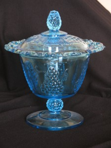 Indiana Glass Harvest Candy Box