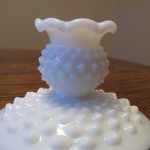 Hobnail Candle Stick Holders