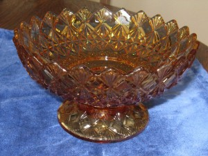Amber Candle Holder