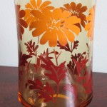 Libbey Floral Tumblers 3