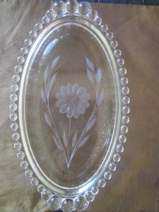 Imperial Candlewick Cornflower Tray (2)