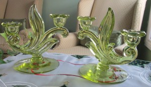 Duncan Miller Citron 115 Candle Holders