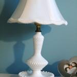 Hobnail Lamp
