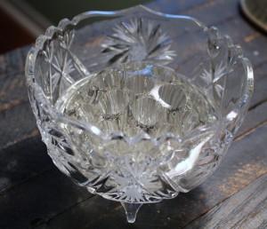 Thislte Cut Vase