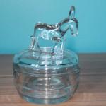 Jeannette Donkey Powder Jar