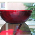 Anchor Hocking Ruby Red Bowl (2)