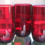 Anchor Hocking Ruby Red Glass