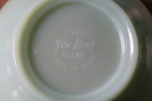 Fire KIng Jadeite Bowl 2