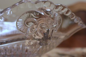 Cambridge Clear Ram's Head Bowl (5)