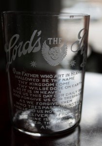 Lord's Prayer Glass (1)
