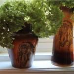 Fostoria Indian Vases