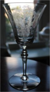 Unknown Etched Goblet (2)