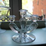Tiffin Candle Holder with Corn Flower (1)